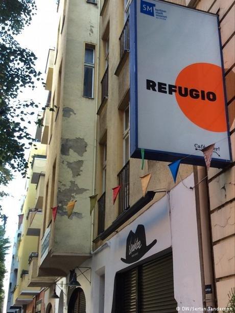 Tout le monde est le bienvenu chez Refugio Berlin
