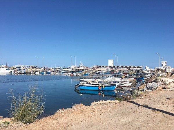 Le port de Zarzis. Crédit : InfoMigrants