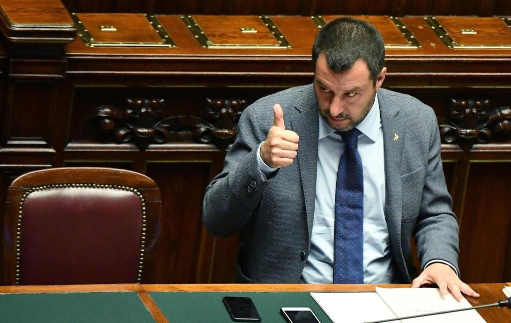 Italian Interior Minister Matteo Salvini  Credit ANSA