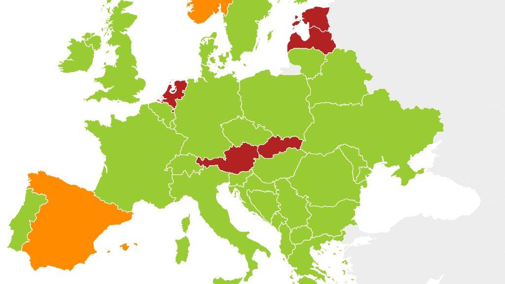 La majorité des pays européens autorisent la double nationalité mais quelques uns font exception. Crédit : InfoMigrants