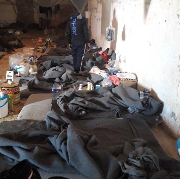 مركز احتجاز المهاجرين في زنتان. المصدر: مهاجر نيوز