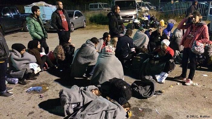 پناهجویان در مرز کرواسیا