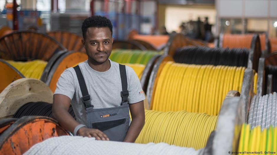 More than 40,000 Eritreans with granted refugee status live in Germany | Photo: Picture-alliance/dpa/S.Gollnow
