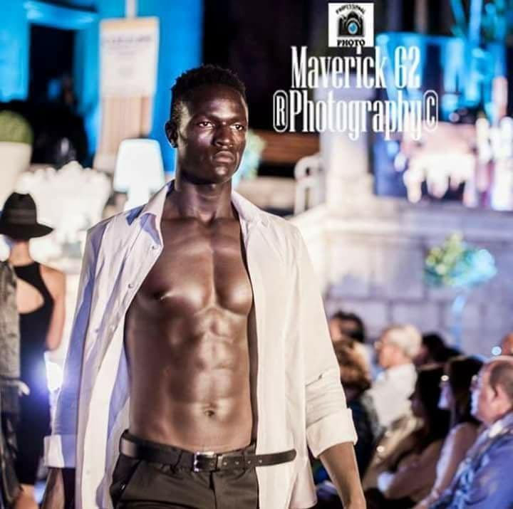 Ismal Drammeh dfile  Cerda en Sicile le 13 aot 2017 Crdits  Maverick 62 Photography