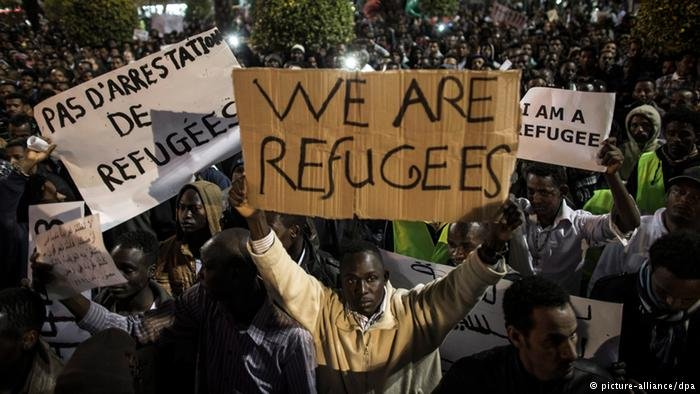 "Activists say that refugees from Sudan and Eritrea cannot return to their ""dangerous"" homelands"
