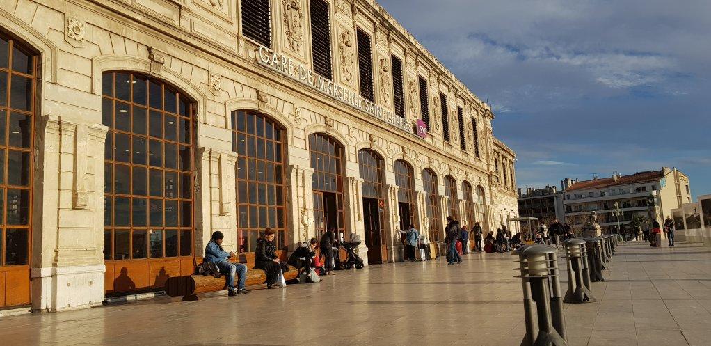 La gare de Marseille Saint-Charles Crdit  Anne-Diandra Louarn  InfoMigrants