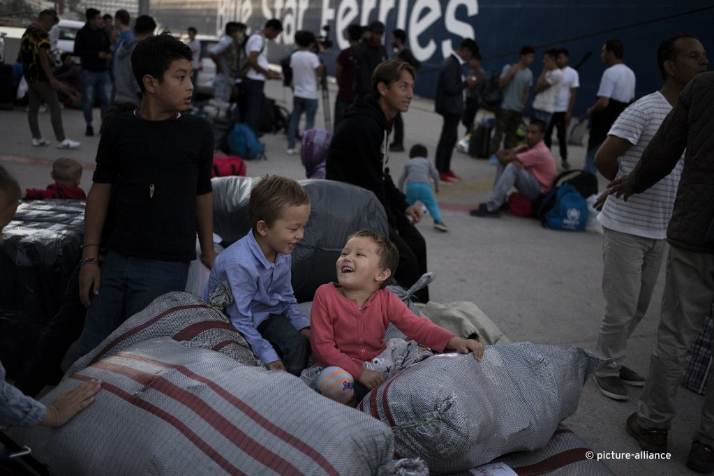 Greece was among the countries with the highest number of asylum applications in 2019 pictured here refugees who were transferred from Lesbos to the mainland  Photo picture alliance  NurPhoto