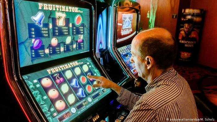 Slot machines pose a huge risk of addiction You can play again and again in a short space of time which heightens the risk of addiction  Photo Picture-alliancedpa M Scholz