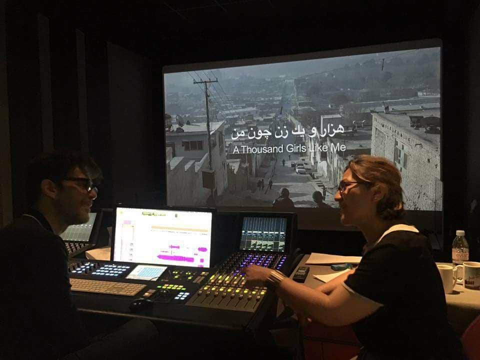 """صحرا مانی: میخواستم با فیلم """" هزاران زن چون من""""  تنهایی سه زن  یا سه نسل را نشان دهم. عکس از فیسبوک صحرا مانی"""