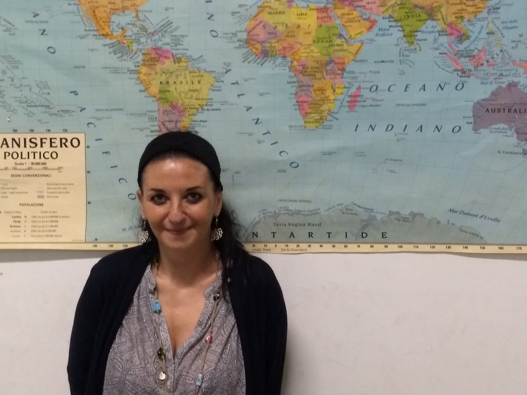Francesca Di Giorgio, Social worker at the Centro Astalli, Catania. | Photo: Emma Wallis