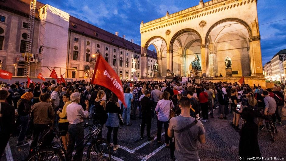 Protests in Munich against deportations  Photo ImagoZUMA PressSBabbar