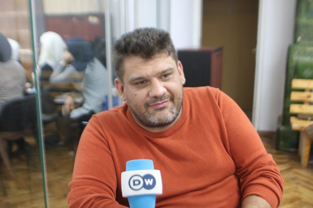 Razvan Samoila runs an NGO that helps refugees. Photo: Cristian Stefanescu