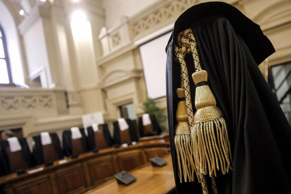 "A court room of the ""Cassazione"" in Rome. Credit: Ansa"