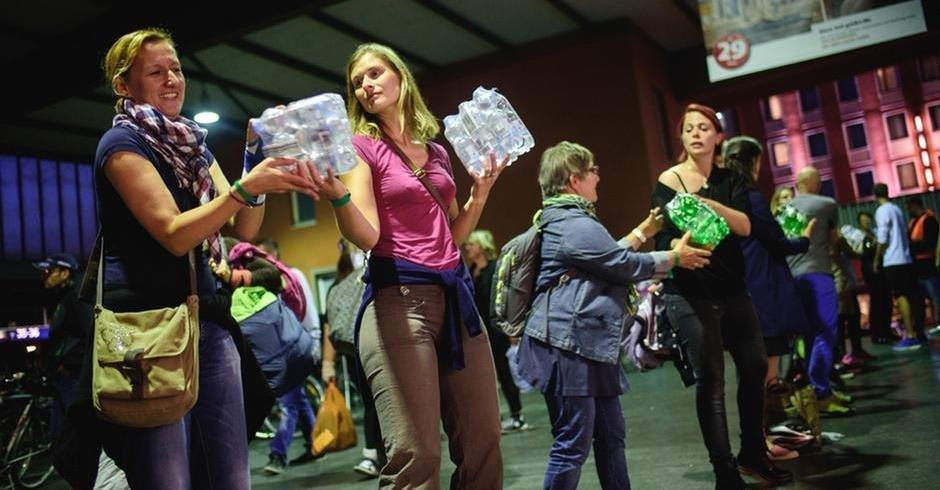 الحماس الأولي فيما يتعلق بالترحيب باللاجئين قد تراجع بحسب ليمان
