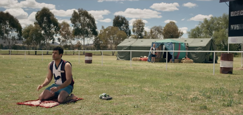 From the trailer of The Merger an Australian film about building bridges through football