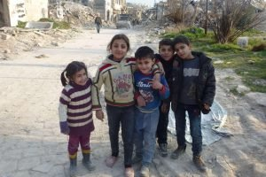 الأطفال في سوريا أول ضحايا الحرب