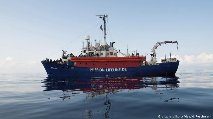 Non-governmental migrant rescue boats like Mission Lifeline now face the challenge of being rejected