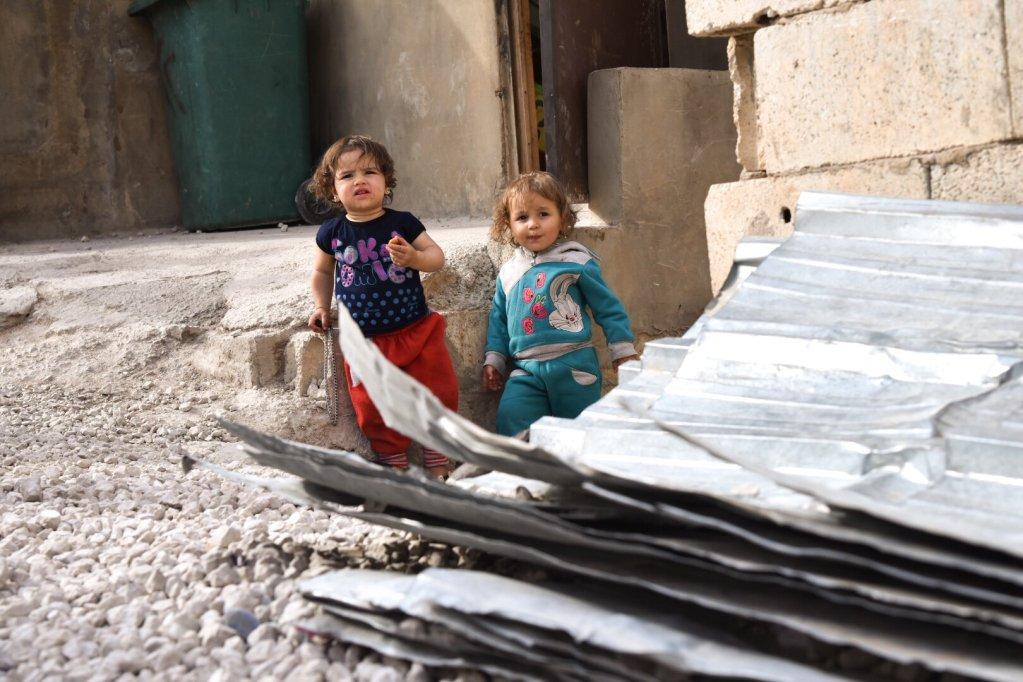 Syrian refugee in Aral  Photo Khaldoun Zeineddine