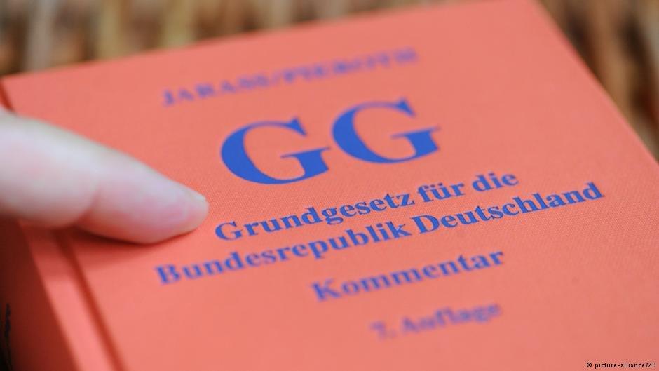 القانون الإساسي الألماني