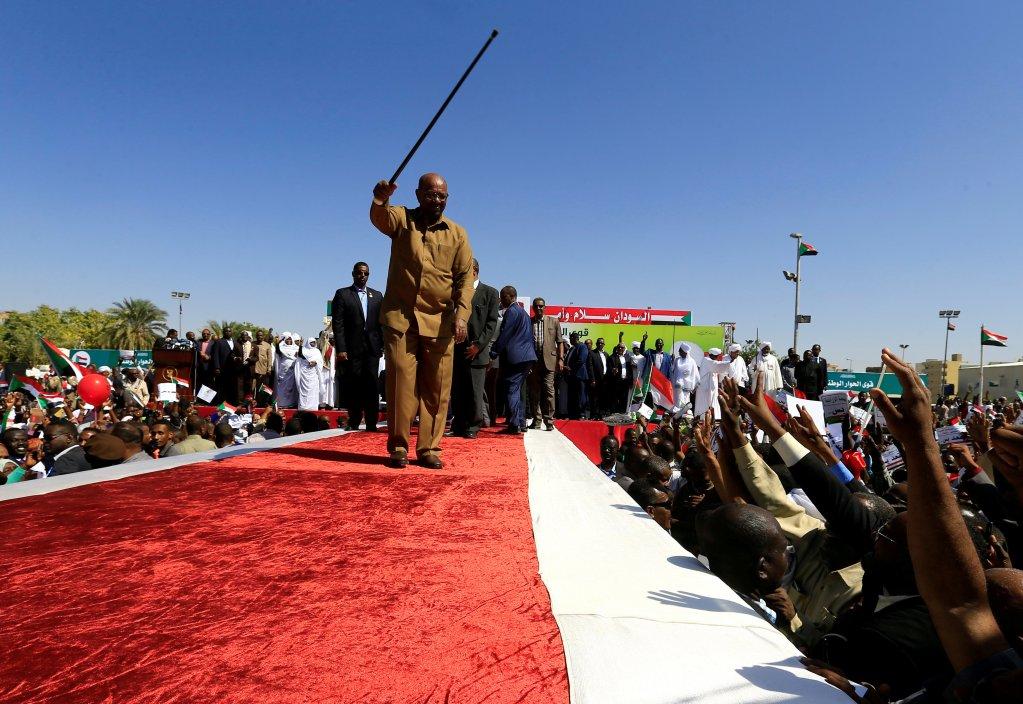 الرئيس السوداني عمر البشير في الخرطوم/رويترز