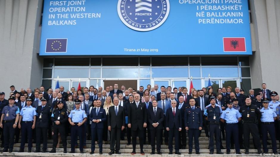 """""""فرانتکس"""" نخستین ماموریت اش را در بیرون از قلمرو اتحادیه اروپا عملی میکند."""