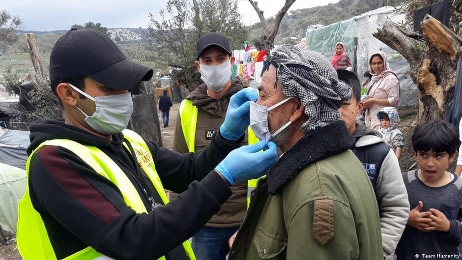 An outbreak of coronavirus at the Moria refugee camp could have disastrous consequences | Photo: Team Humanity