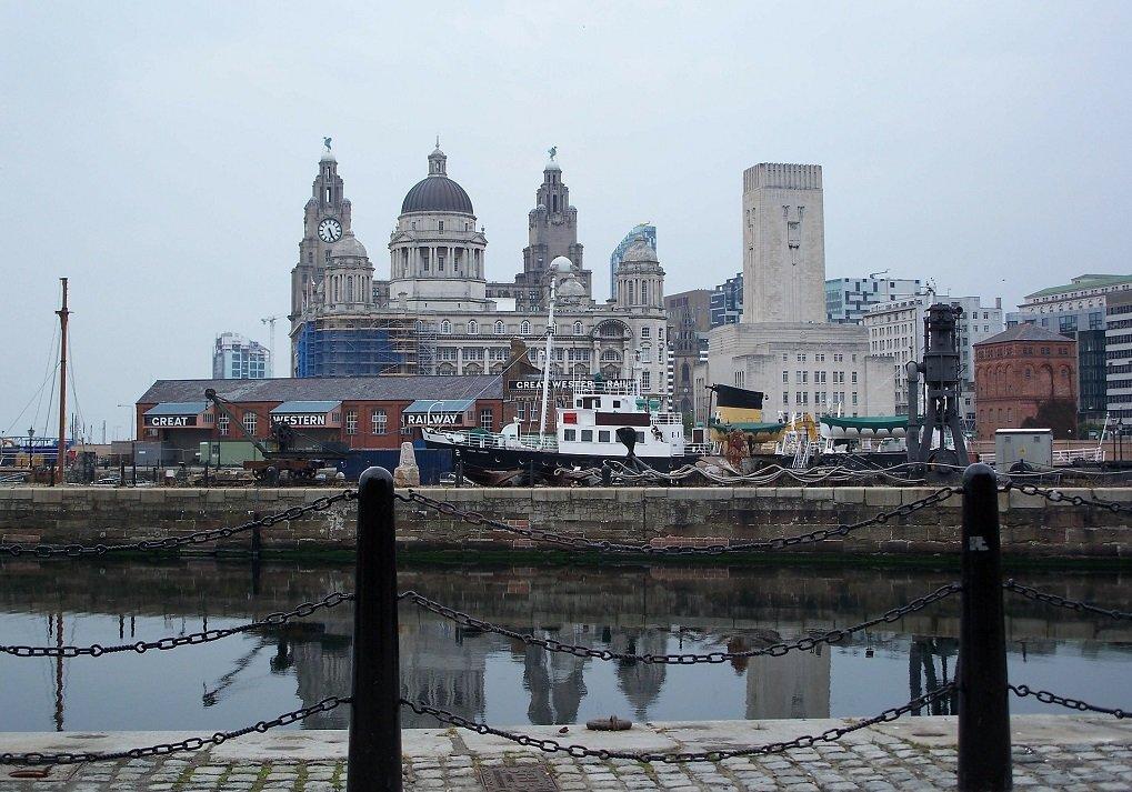 Une vue de Liverpool. Crédit : Pixabay