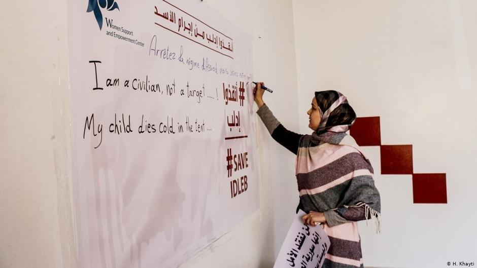Huda Khayti is now focusing on the novel coronavirus in her workshops | Photo: H.Khayti