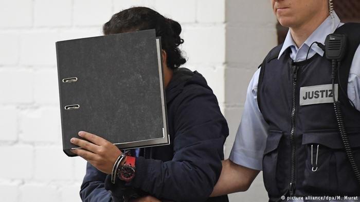 picture alliance/dpa/M. Murat |جانب من المحاكمة في شتوتغارت، أرشيف.