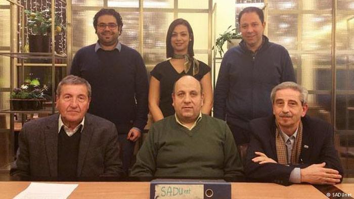 د ماء البارد، في الجمعية السورية لخريجي الجامعات الألمانية في برلين