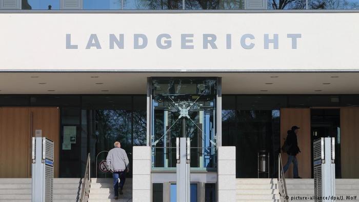 picture-alliance/dpa/J. Wolf |مبنى محكمة مدينة ماغدبورغ.