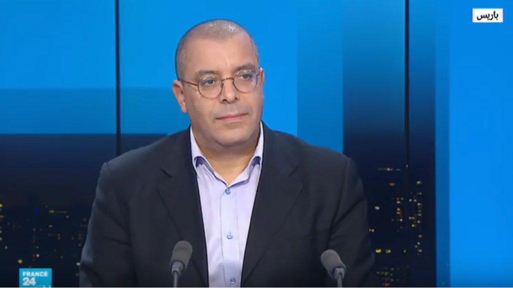 مصطفى الطوسة على قناة فرانس24 ( مونت كارلو الدولية)