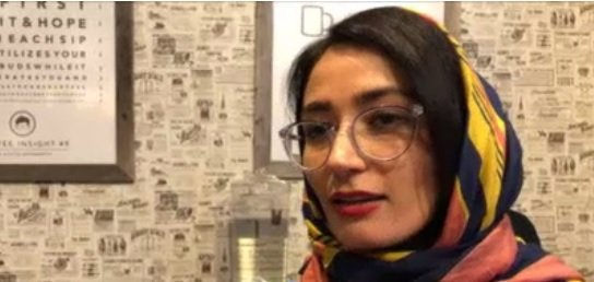 Fereshteh Forough wants to give Afghan girls the chance to learn 21st Century skills Photo: DW