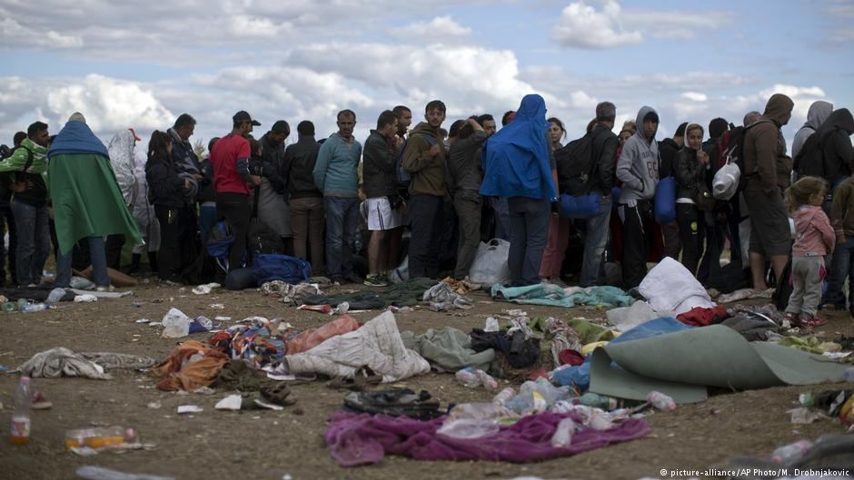 """Most migrants are kept at Hungary's so-called """"transit zones"""" along the Serbian border until their asylum applications are reviewed"""