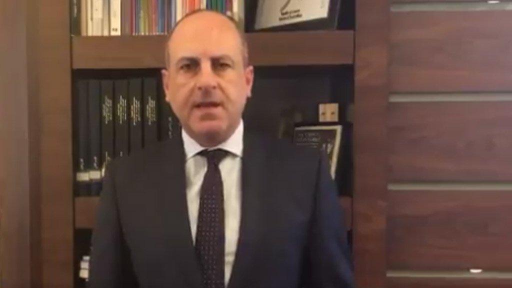 وزير الشؤون الاجتماعية اللبناني بيار بو عاصي (تويتر)