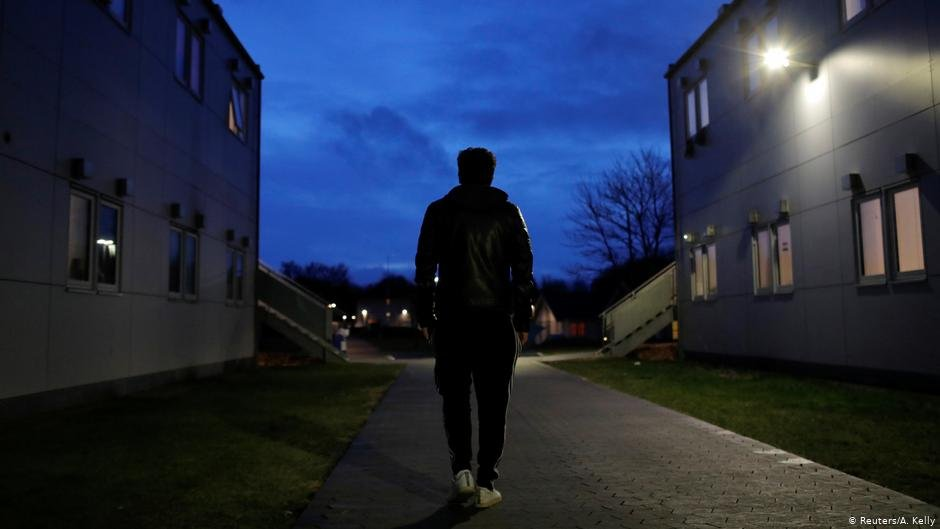 Hoshang Rostami 24 from Iran walks through Kaershovedgaard a former prison and now a departure centre for rejected asylum seekers in Jutland  Photo ReutersAKelly