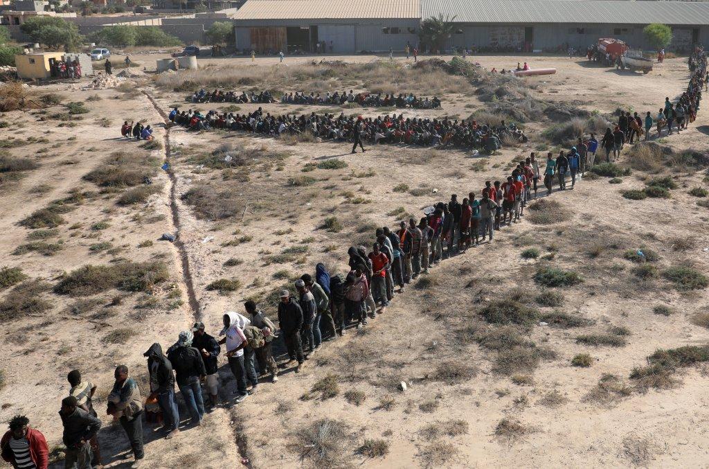 مهاجرون في ليبيا/ أرشيف/ ANSA