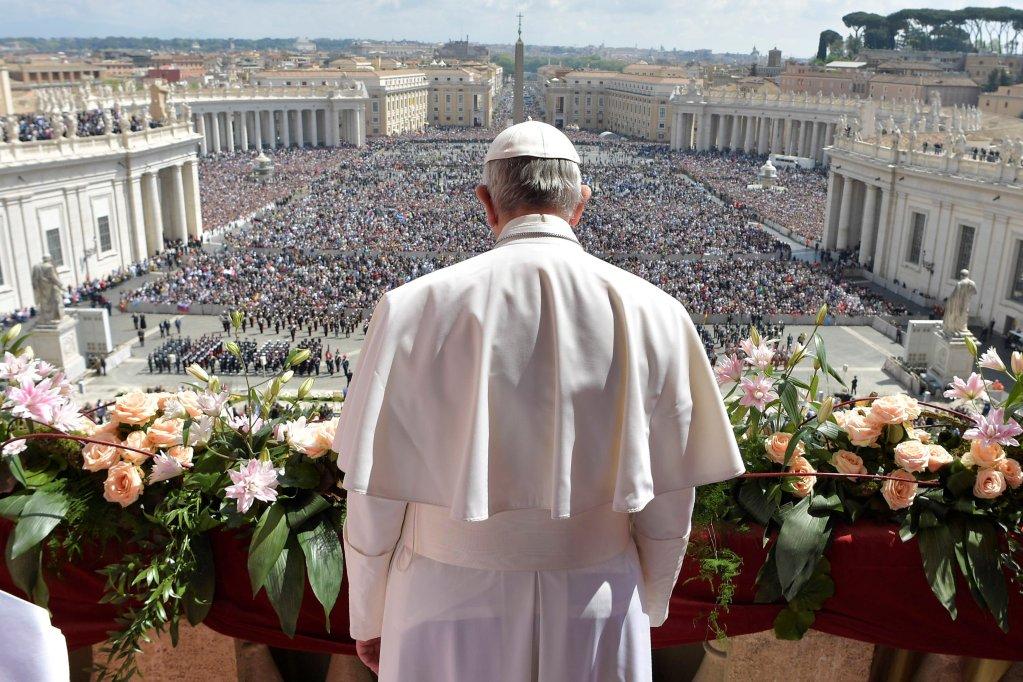 Osservatore Romano/Handout via REUTERS |Le pape François délivrera son message «Urbi et Orbi» depuis le balcon dominant la place Saint-Pierre.