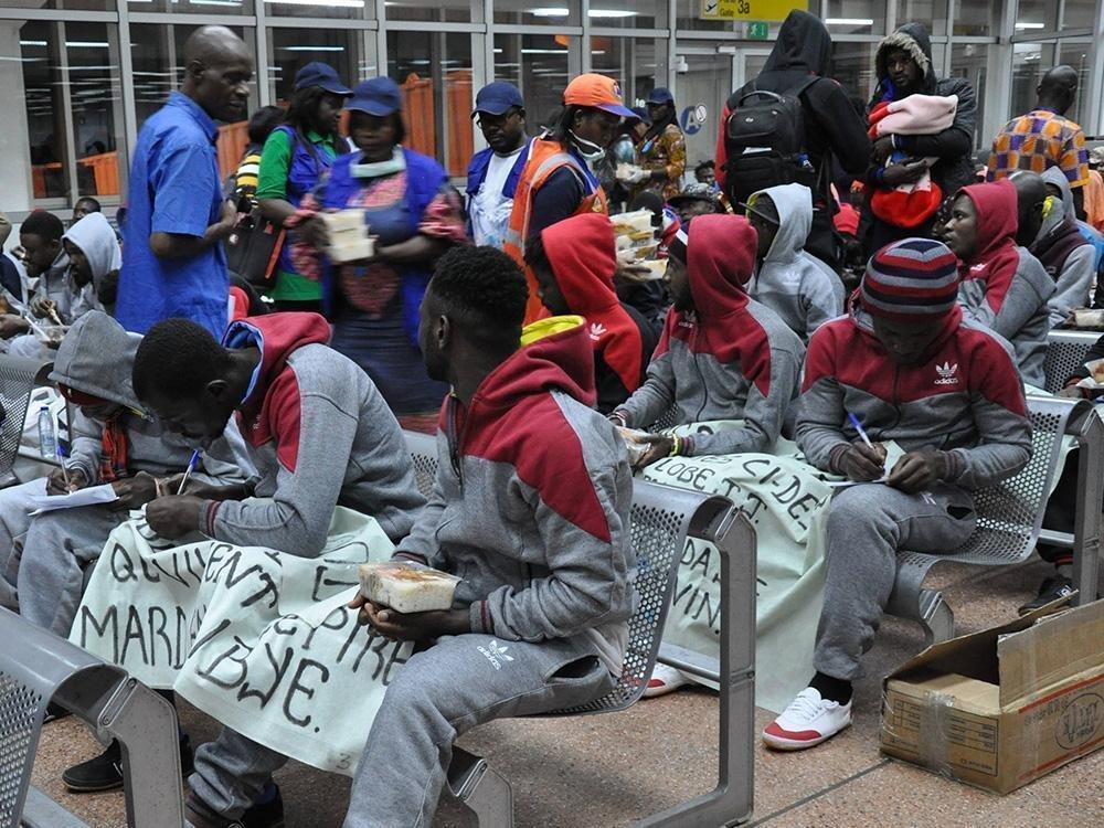 ansa / العائدون الكاميرونيون الذين دعمتهم منظمة الهجرة الدولية لبدء نشاطاتهم لكسب الرزق. المصدر: منظمة الهجرة الدولية.