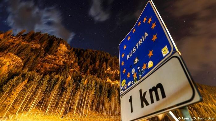 Le col Brenner ou la frontière entre l'Autriche et l'Italie. Crédit : Reuters