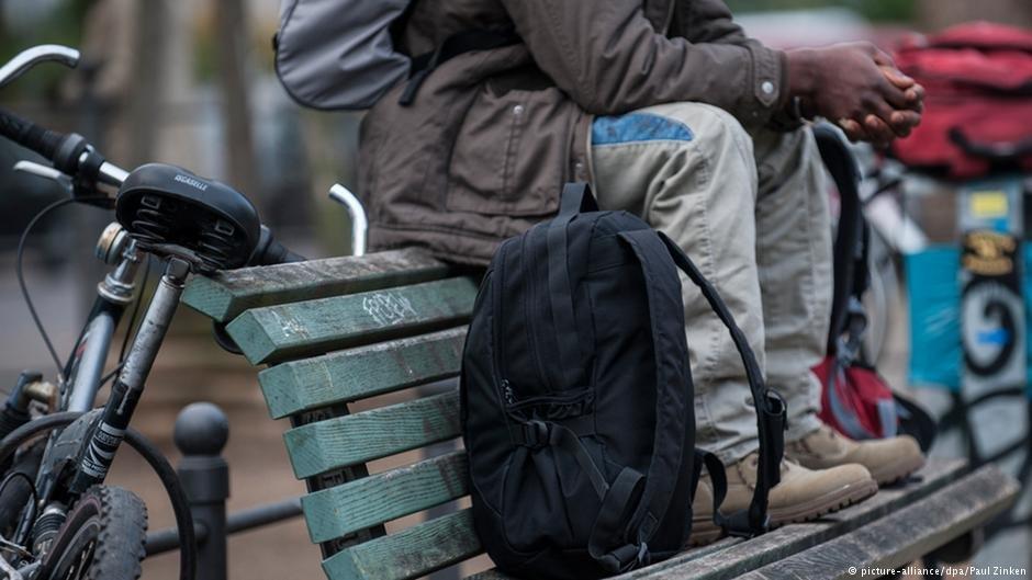 Asylum seeker in Berlin