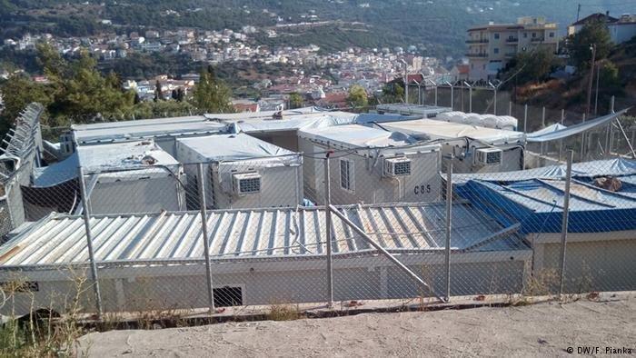 Le centre d'accueil pour migrants sur l'île grecque de Samos | Photo: Fabian Pianka