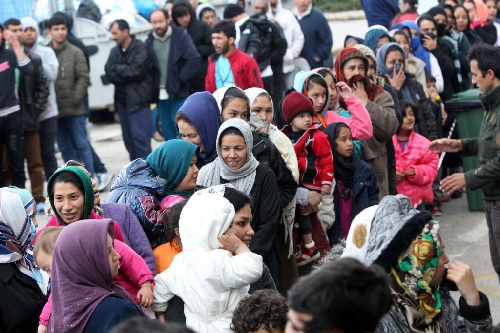 For many refugees, receiving assistance to return home comes as a major opportunity   Copyright:EPA/Pantelis Saitas