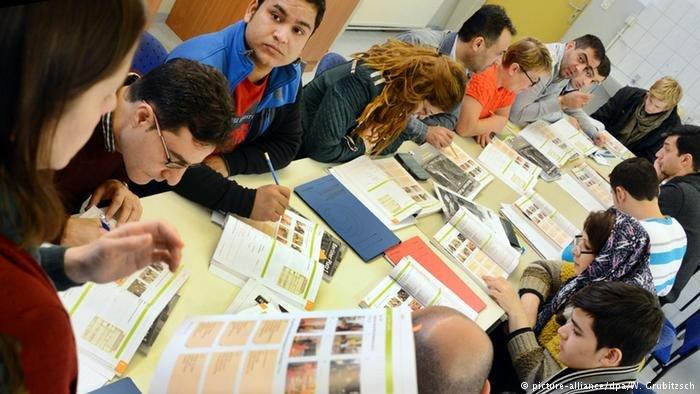 Participants of an integration course