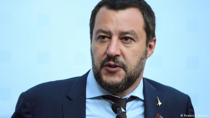 ماتئو سالوینی، وزیر داخله ایتالیا.