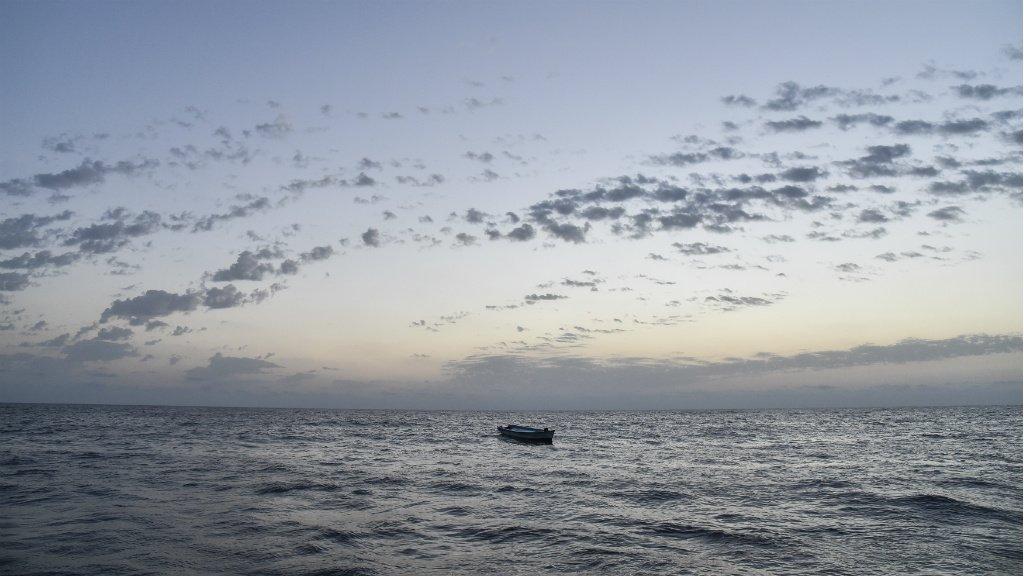 أ ف ب/أرشيف |قارب ينقل مهاجرين.