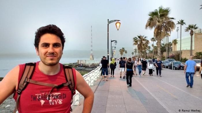 رمزي مرهج في بيروت قبل الكارثة