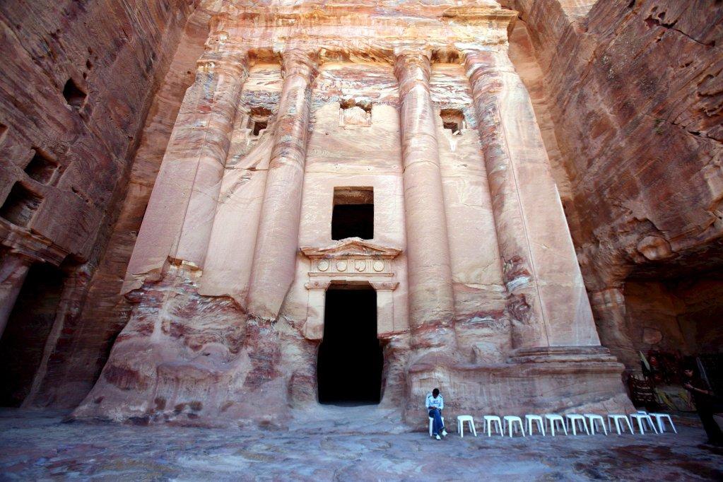 قلعة البتراء التاريخية في الأردن. الصورة: ANSA