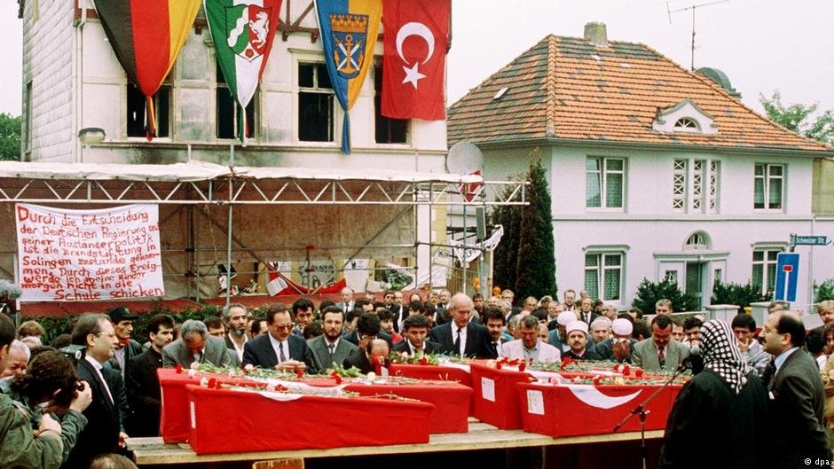 25 years ago: the attack in Solingen left five people dead - and a country in shock