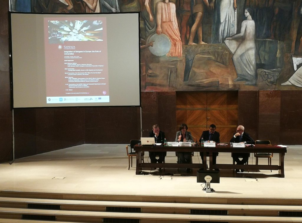 La Sapienza University in Rome Photo: ANSA